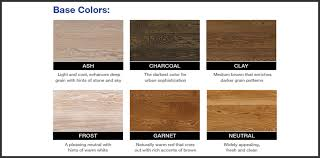 Bona Fast Dry Stain Color Chart Color Chart Sustainable Flooring Solutions