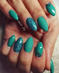Stylish Green Cool Green Nail Art - Nail Arts and Nail Design Ideas
