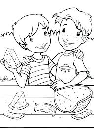 watermelon coloring pages holly page likes w is for free sheets watermelon coloring pages