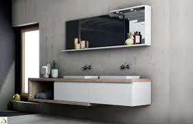 Arredo Bagno arredo bagno bergamo : Bagno con doppio lavabo Bucaneve | Arredo Design Online
