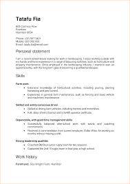 Goodhingso Put On Your Cv Resumes Skills Basedour Operator