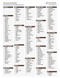 grocery checklist 25 unique grocery checklist ideas on pinterest housing list