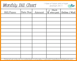 Monthly Bill Organizer Book Printable Bill Organizer Book Tinbaovn Info