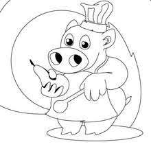 Small Picture Roost chicken coloring pages Hellokidscom