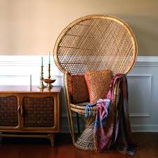 high back wicker chair fall home century design fan back high chair interior pea dining armchair high back wicker chair