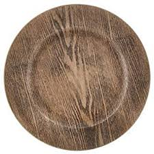 Wood - Charger & Service Plates / Plates: Home ... - Amazon.com