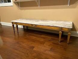 weiman marble top french provincial