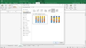 Change The Chart Type In Excel Instructions And Video Lesson