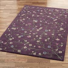 flower area rug lavender reign area rugs