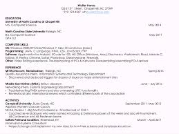 resume for computer science resumes for computer science students 2014