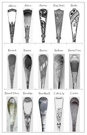 Silver Patterns Beauteous Some 48th Century Flatware Patterns Queenofsienna