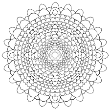 Free Printable Mandalas For Adults Difficult Mandala Coloring