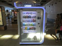 Pokemon Center Vending Machine Amazing Video Games Trading Cards Plushies And Figurines Yelp