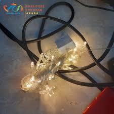 Mã LIFEHOT10K giảm 10K đơn 20K] Dây đèn Led trang trí phòng Vuadecor Đèn  Led dây vàng giá rẻ dài 5m 40 bóng chính hãng 15,000đ