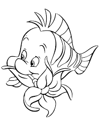 Small Picture Unique Flounder Coloring Pages 39 About Remodel Picture Coloring