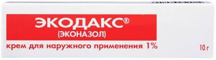 Купить <b>Экодакс крем 1</b>% <b>10г</b> туба (эконазол) по выгодной цене в ...
