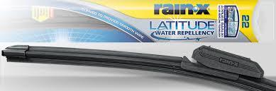 Rain X Latitude Water Repellency 2 N 1 Wiper Blades Rain X