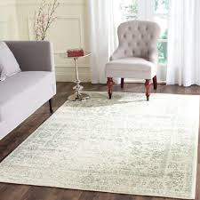 square indoor area rugs new adirondack ivory sage ivory green 8 ft x 10 ft area