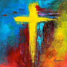 painting cross 2 by e bryant