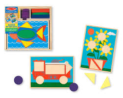 Melissa And Doug Beginner Pattern Blocks
