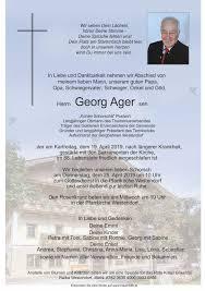 Todesanzeigen Trauerhilfe Bestattungs Gesmbh