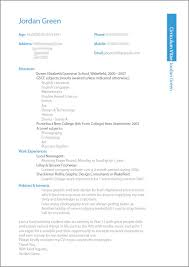proofread and edit your resume or CV Fiverr Sample Entry Level Curriculum  Vitae Page Click for