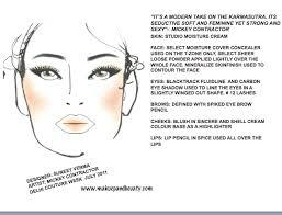 Vimi Joshi Mac Face Chart Delhi Couture Week 2011