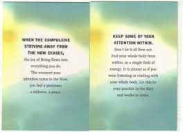 The Power Of Now Quotes The Power of Now color cards by Eckhart Tolle Better Day Yoga 26