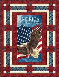 Suzzetts Fabric: Land of the Free Patriotic Quilt Kit UPDATED & Land of the Free Patriotic Quilt Kit UPDATED Adamdwight.com