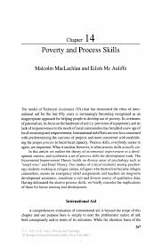 poverty and process skills springer inside