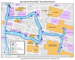 san antonio riverwalk map with hotels San Antonio Hotels On Riverwalk Map information on disability access on the san antonio riverwalk map of hotels on riverwalk san antonio
