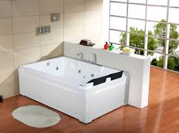 lisna waters roma large straight whirlpool bath 1850mm x 1230mm 18 jets with heater light
