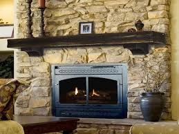 image of prefab outdoor fireplace