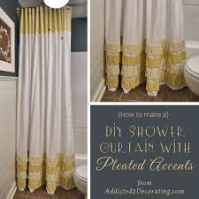 diy shower curtain ideas. Contemporary Diy Addicted 2 Decorating To Diy Shower Curtain Ideas P