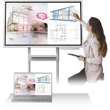 Samsung Flip Interactive Digital Flip Chart Lh55wmhptwc En