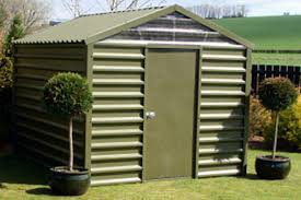 metal garden sheds steel sheds