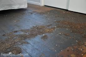 black glue hardwood floor3