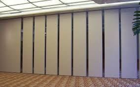restaurant and hotel sound proof interior acoustic wall movable partition