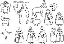 Small Picture Nativity Coloring Book 13140 plaaco