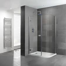Simple Curved Shower Enclosures Uk Volente Corner Enclosure Throughout Ideas