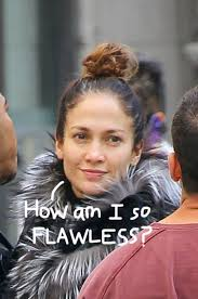jennifer lopez is flawless without makeup