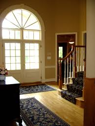 Custom Staircase Runner and Foyer ...