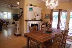 Living And Dining Room Furniture Creative Rustic Dining Room Decoration Ideas With Rectangular