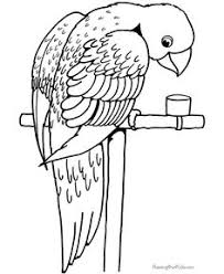 these free printable coloring pages of birds provide hours of