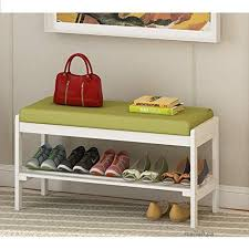 shoe cabinet solid wood shoes bench shoe rack storage living room door outdoor flip stool cotton