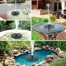solar fountain water pump 2 5w solar