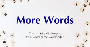 search dictionary for word games