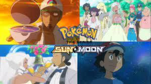 Pokemon Sun and Moon anime review ep 55 farewell Nebby, Professor Kukui and  Burnet marriage!!! - YouTube