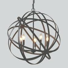large metal orb charming large metal orb chandelier world market at extra within extra large orb