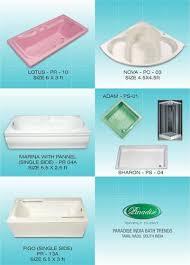 acrylic massage bathtub